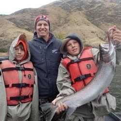 FISHING FLOAT TRIP ON THE SALMON RIVER FOR 2 PEOPLE W/MOTEL& MEAL