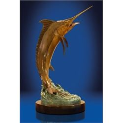 """The Prize"" Bronze Sculpture"