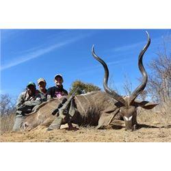 South African Hunt for Kudu, Red Hartebeest, Blue Wildebeest, Reedbuck, Porcupine and Jackal