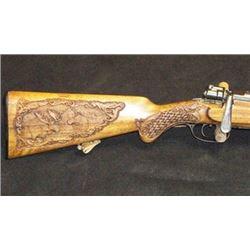Custom Firearm Woodcarving from Lance Larson Studio