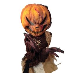 Hell Fest Screen Used Hanging Pumpkin Head Movie Props