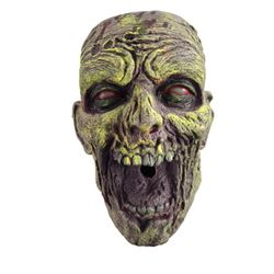 Hell Fest Screen Used Zombie Head Movie Props
