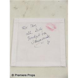Inglourious Basterds Bridget von Hammersmark (Diane Kruger) Napkin Movie Props