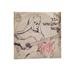 Debbie Reynolds Autographed The Singing Nun Record