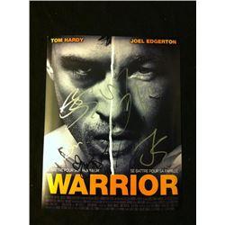 Warrior Cast Signed Promo Photo