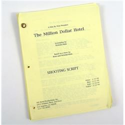 Million Dollar Hotel Original Production Script Of Richard Edson (Joe)