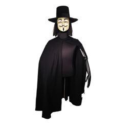 V for Vendetta Hero Movie Costumes