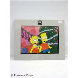 The Simpsons  Original Hand-Painted Cel from Production