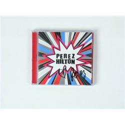 Perez Hilton Signed CD