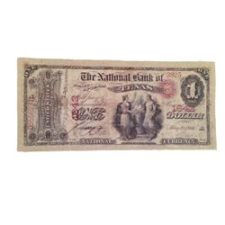 Django Unchained $1 Bank Note Movie Props