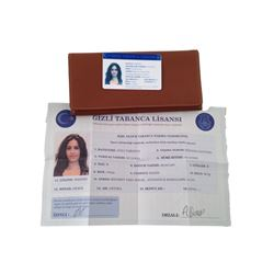 American Assassin Annika (Shiva Negar) Wallet & Driver's License Movie Props