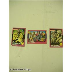 Christian Slaters Personal Marvel Cards