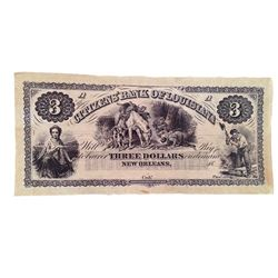 Django 3 dollar Bank Note Movie Props