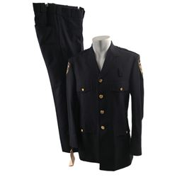 Spider-Man 3 Captain Stacy (James Cromwell) Police Uniform Movie Costumes