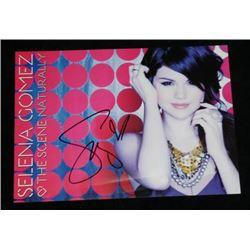 Selena Gomez Autographed Promo card