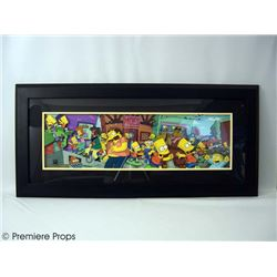The Simpsons Movie Opening Sequence LE Hand Painted Cel Framed