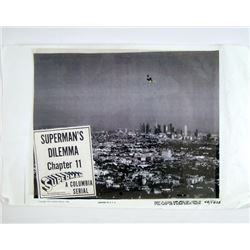 Superman's Dilemma Chapter 11 black and white Columbia Serial