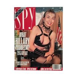 Hillary Clinton Spy Magazine February 1993 White House Dominatrix