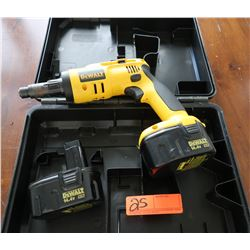 DeWalt XR 14.4v #DW969 Cordless Light Gauge Steel Screw Driver