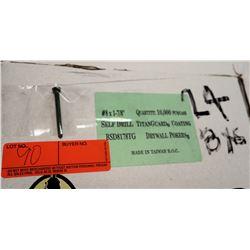 "24 Boxes #8x1-7/8"" Drywall Pokers, Titanguard - Total Screws = 240,000"
