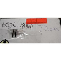 "7 Boxes  #6x1-7/8"" BSD Screws"