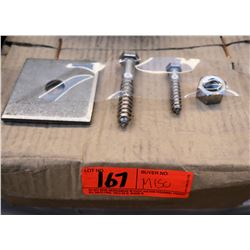1 Pallet Misc Boxes Flat Washers & Metal Stamping, Nuts, & Screws