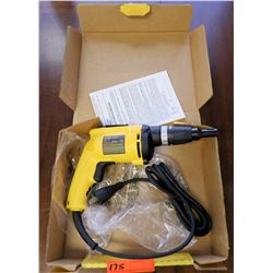 DeWalt Drywall Screwdriver Model DW255 120v 50/60Hz in Case