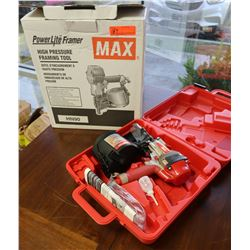 Power Lite MAX High Pressure Framing Tool Model HN90 in Case