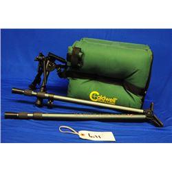Bipod, Shooting Stick and Caldwell Shooting Bag