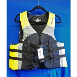 Fluid Life Jacket  size Large