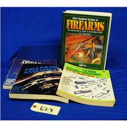 4 Firearms Reference Guide Books