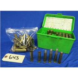 Lot of 45-70 Brass and Reload