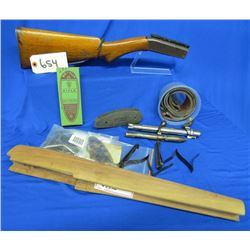Lot of Assorted Gun Parts