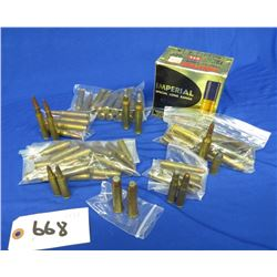 Lot of Assorted Rifle Ammo and misc Pistol