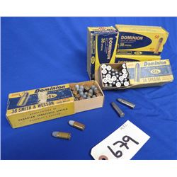 Lot of  38 Ammo