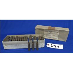 85 Rounds of 6.5 x 55 Ammo