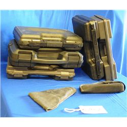 Plastic Pistol Cases and holsters