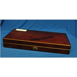 Lockable Wooden Percussion Display Box