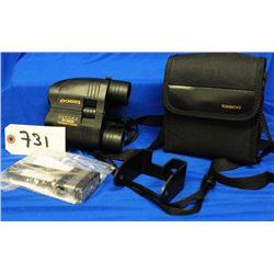 Tasco 8x20x 25 Zoom Binoculars and