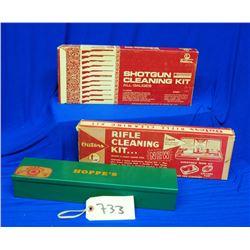 4 Gun Cleaning Kits plus 2 Books