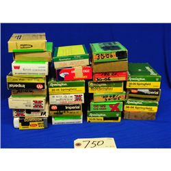 Box Lot 30-06 Ammo