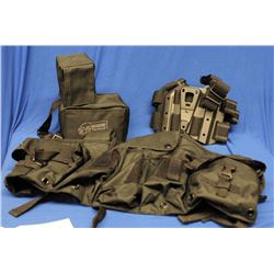 Tactical  Shooting Rest and Holster