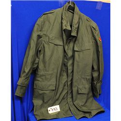 Military Belgian Jacket Size small