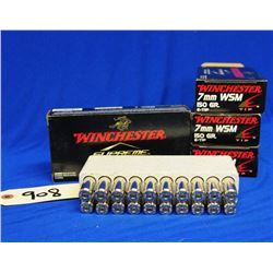 80 Rnds Factory Winchester 7mm WSM