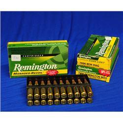 60 Rnds Remington 7mm Rem Mag Factory Ammo