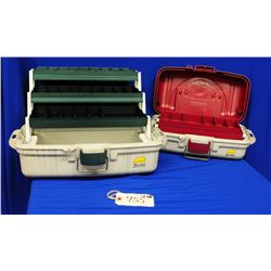 Two Plano Tackle Boxes