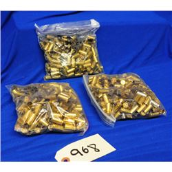 700 pieces 9mm Luger fired brass
