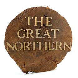 'The Great Northern' Hotel Lobby Sign - TWIN PEAKS (1990 - 1991)