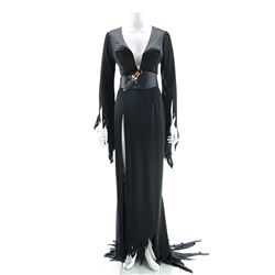 Elvira's (Cassandra Peterson) Signature Black Gothic Dress - ELVIRA: MISTRESS OF DARK
