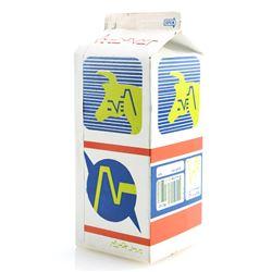 White Gold Half-Gallon Milk Carton - ALIEN NATION (1989 - 1990)